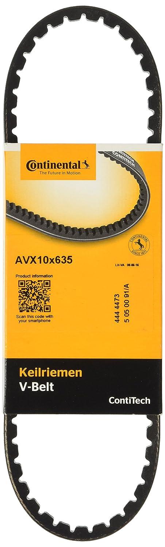 Contitech AVX10X635 Courroie TRAPEZOIDALE