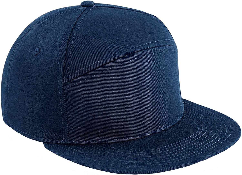 Retro H-Panel Baseball cap for Men and Women Beechfield Pitcher Snapback