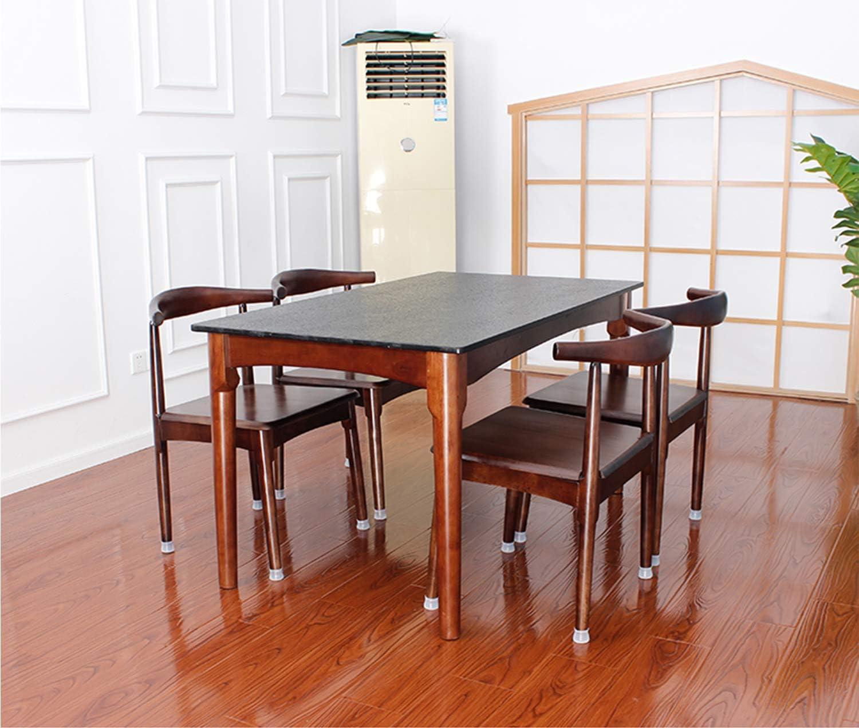 funda para pie de mesa Silent alfombrilla para silla Silent Alfombrilla de silicona para funda de silla alfombrilla para muebles Paquete de 20 piezas