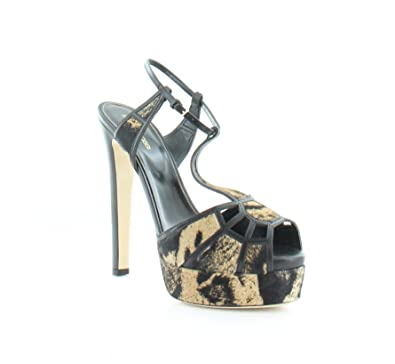 new concept 4267a 71e5c Amazon.com | Sergio Rossi Crystal Puzzle Women's Heels | Sandals