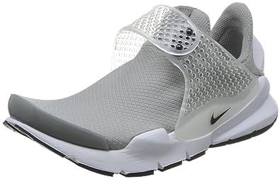 Nike Womens Sock Dart Running Trainers 848475 Sneakers Shoes (US 6 medium grey black white 001)