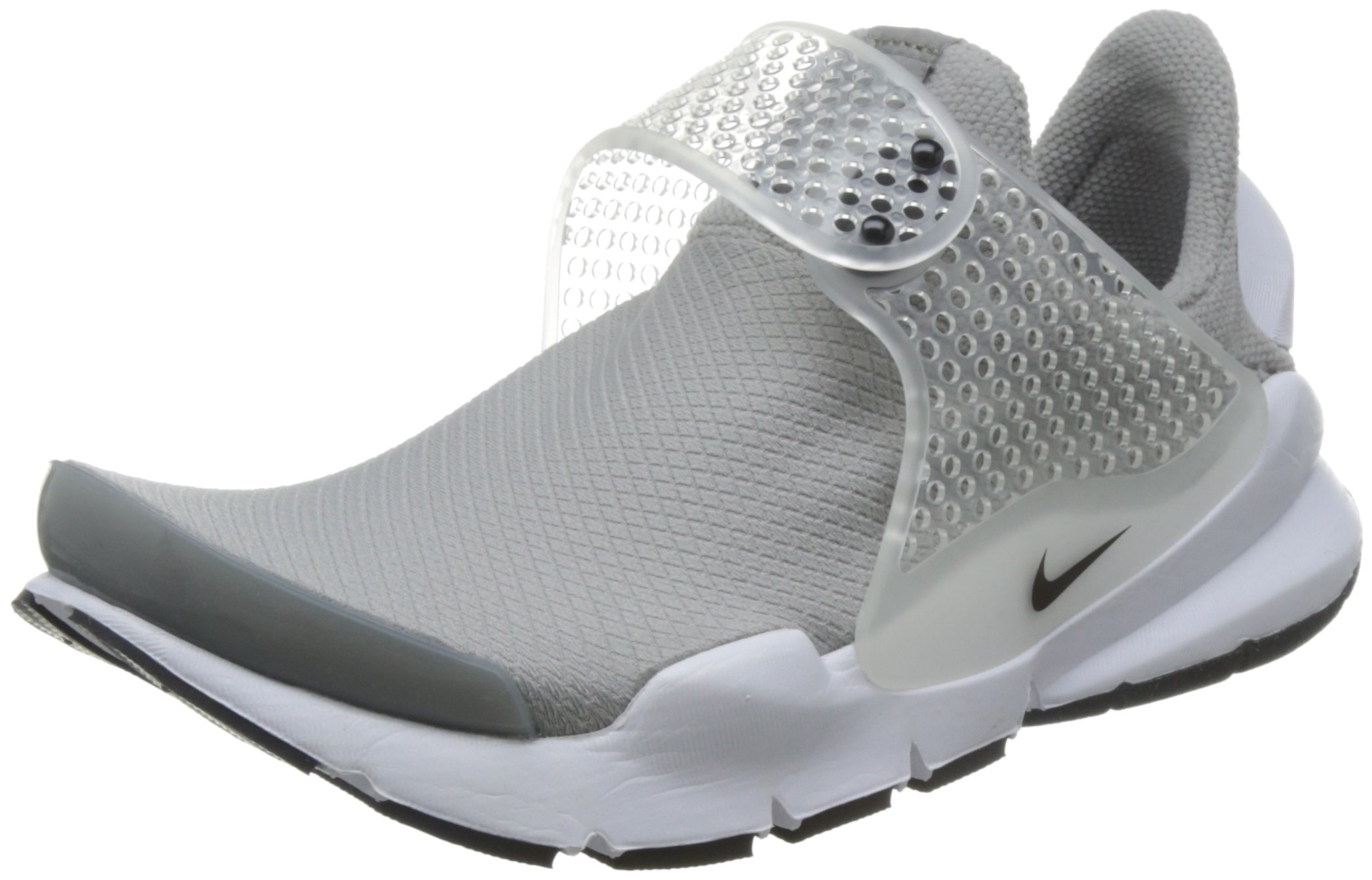 Nike Womens Sock Dart Running Trainers 848475 Sneakers Shoes (US 8 medium grey black white 001)