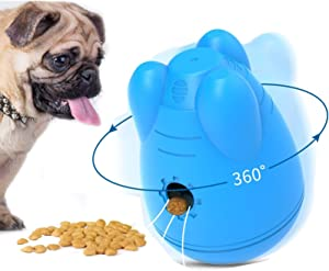 N/P Interactive Dog Food Treat Ball Funny Pet Shaking Leakage Food Container Dog Slow Feed Pet Tumbler Toy Bowl for Medium and Large Dogs