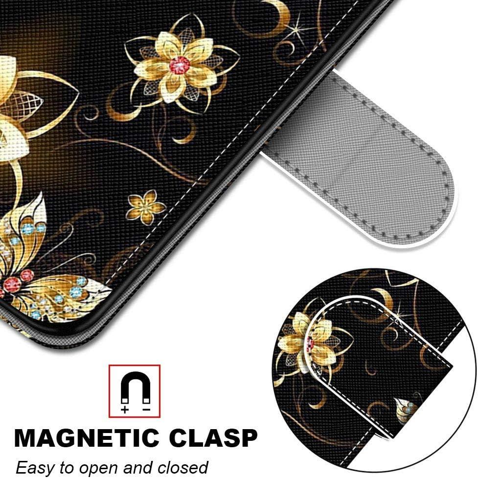 Miagon Custodia Cover Case per Samsung Galaxy A7 2018,Colorato Modello Pelle Portafoglio Libro Cuoio Flip Cover con Porta Carte Magnetica Supporto,Acqua Gocce