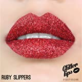 Glitter Lips by Beauty Boulevard - The #1 Exclusive Long Lasting Premium Glitter Lip Product (Ruby Slippers)