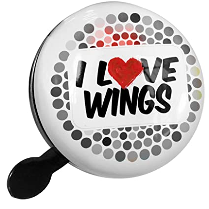 Amazon.com : NEONBLOND Bike Bell I Love Wings Scooter or ...