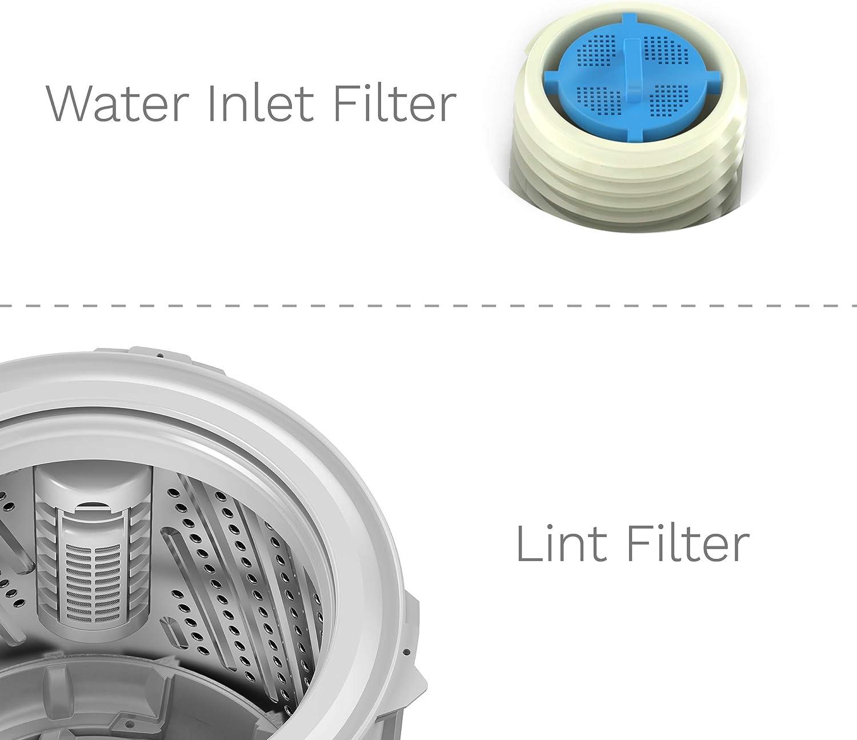 hOmeLabs 0.9 Cu. Máquina de lavar portátil de 6 libras de ...