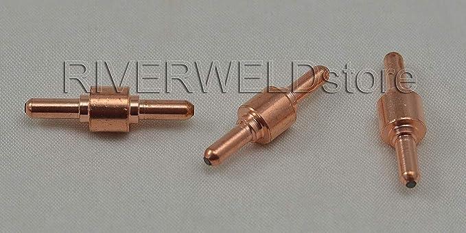 80Pcs PT31 Plasma Electrodes Tips Nozzles Consumables Kits For CUT50 CUT60 CT312