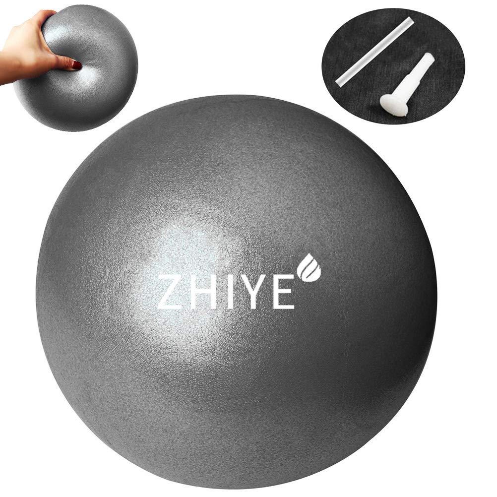 Zhiye - Balón de Pilates para Yoga (tamaño pequeño, Antideslizante ...