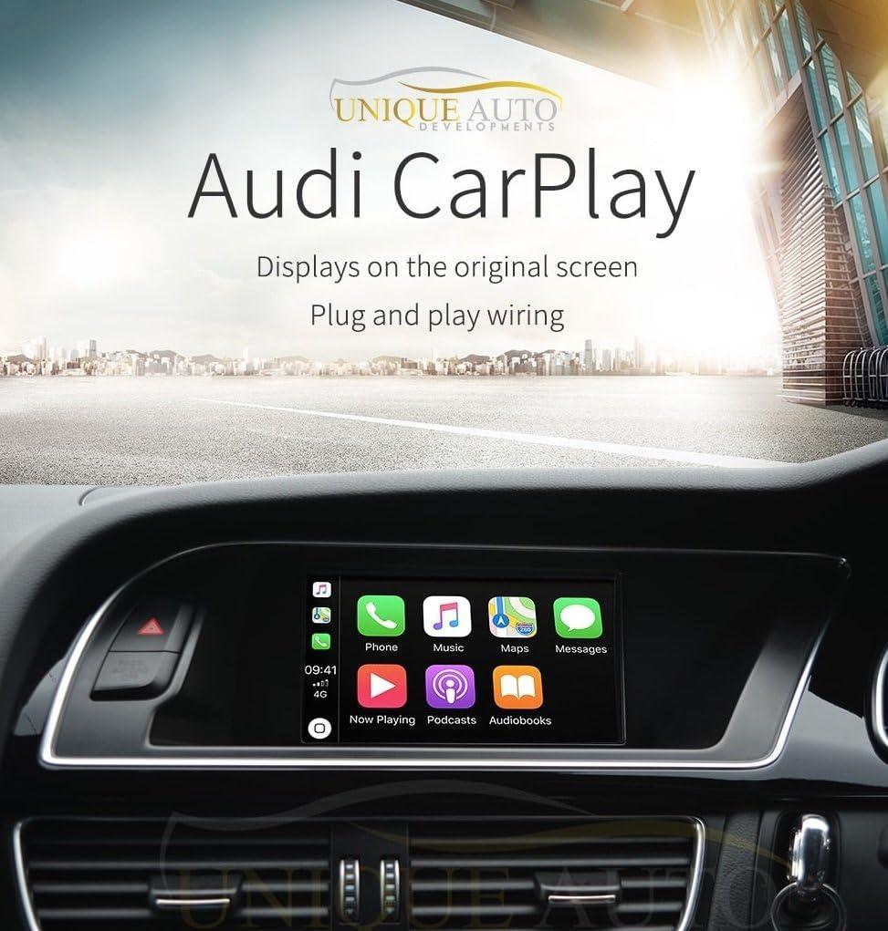 Caja de interfaz CarPlay de cámara de marcha atrás, estéreo ...