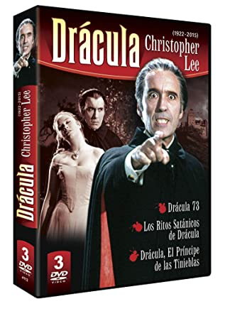 Christopher Lee 3 DVD Dracula Pack: Amazon.es: Christopher Lee, Varios, Christopher Lee: Cine y Series TV