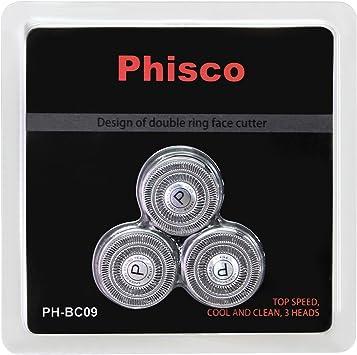 Phisco Afeitadora Electrica Recambios para Máquina de Afeitar ...