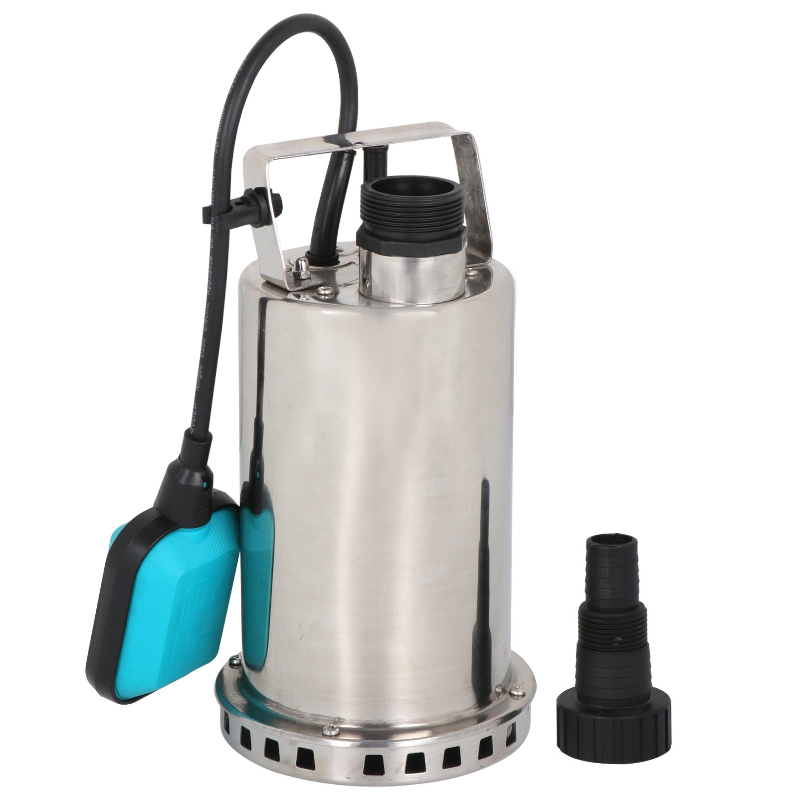 SUPER DEAL Submersible pump Stainless Steel Sump Pump Dirty/Clean Water Pump Pool Utility Pump w/ 26ft Cable and Float Switch