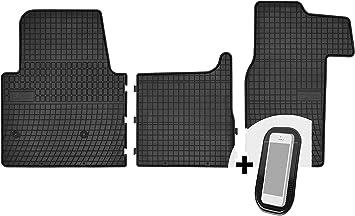 Gummimatten Auto Fußmatten Gummi Automatten Passgenau 3 Teilig Set Passend Für Renault Master Iii Nissan Nv400 Opel Movano B 2010 2018 Auto