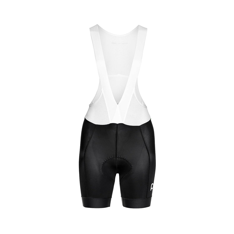POC Essential Road Bib Short – Women 's B07BH82FB4  ブラック(Uranium Black) X-Small
