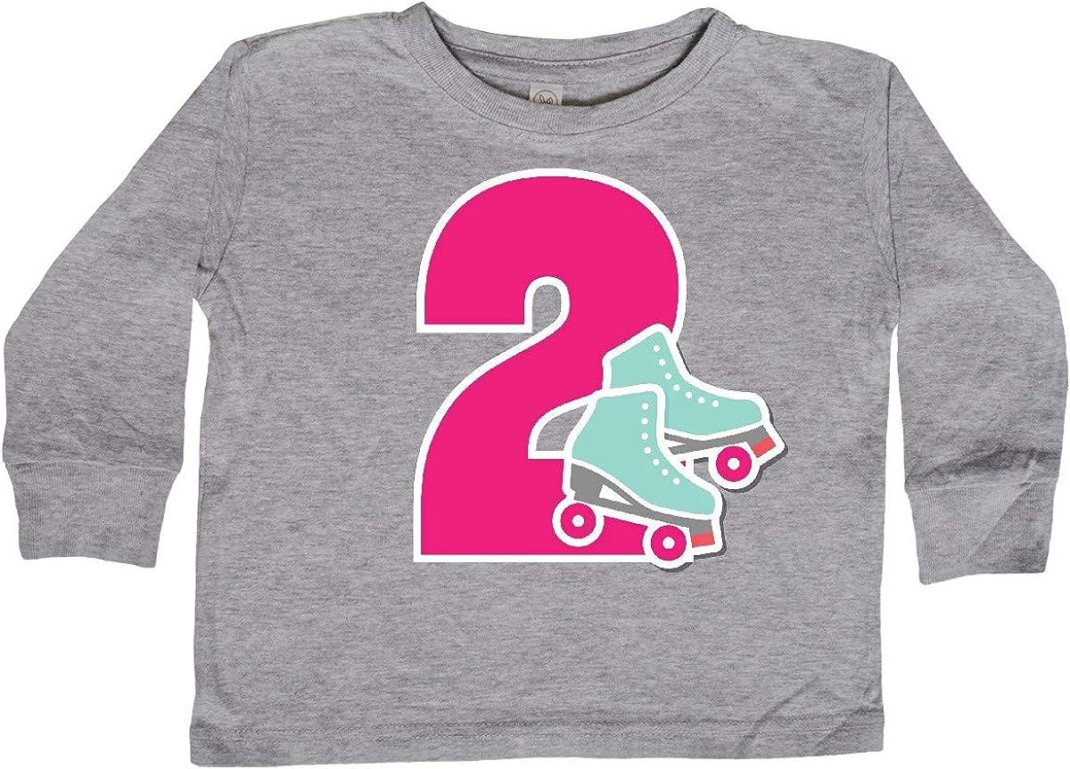inktastic 2nd Birthday Roller Skating Toddler T-Shirt