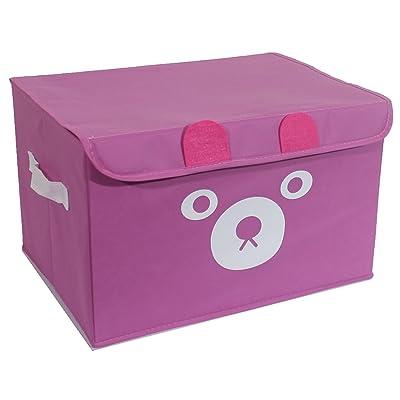 Katabird Pink Toy Storage Box Organizer, Limited Edition: Kitchen & Dining
