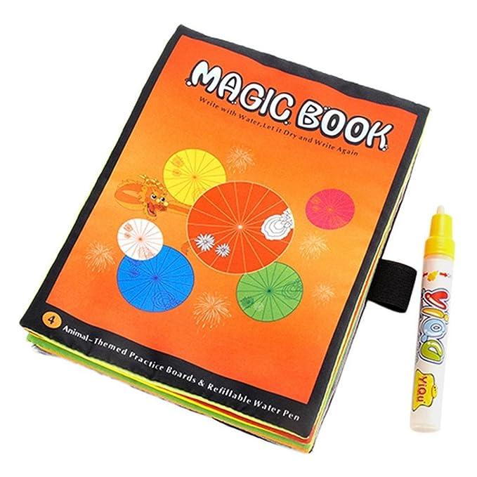 PAOLIAN Libro De Dibujo De Magic Water Libro De Colorear Garabatear ...