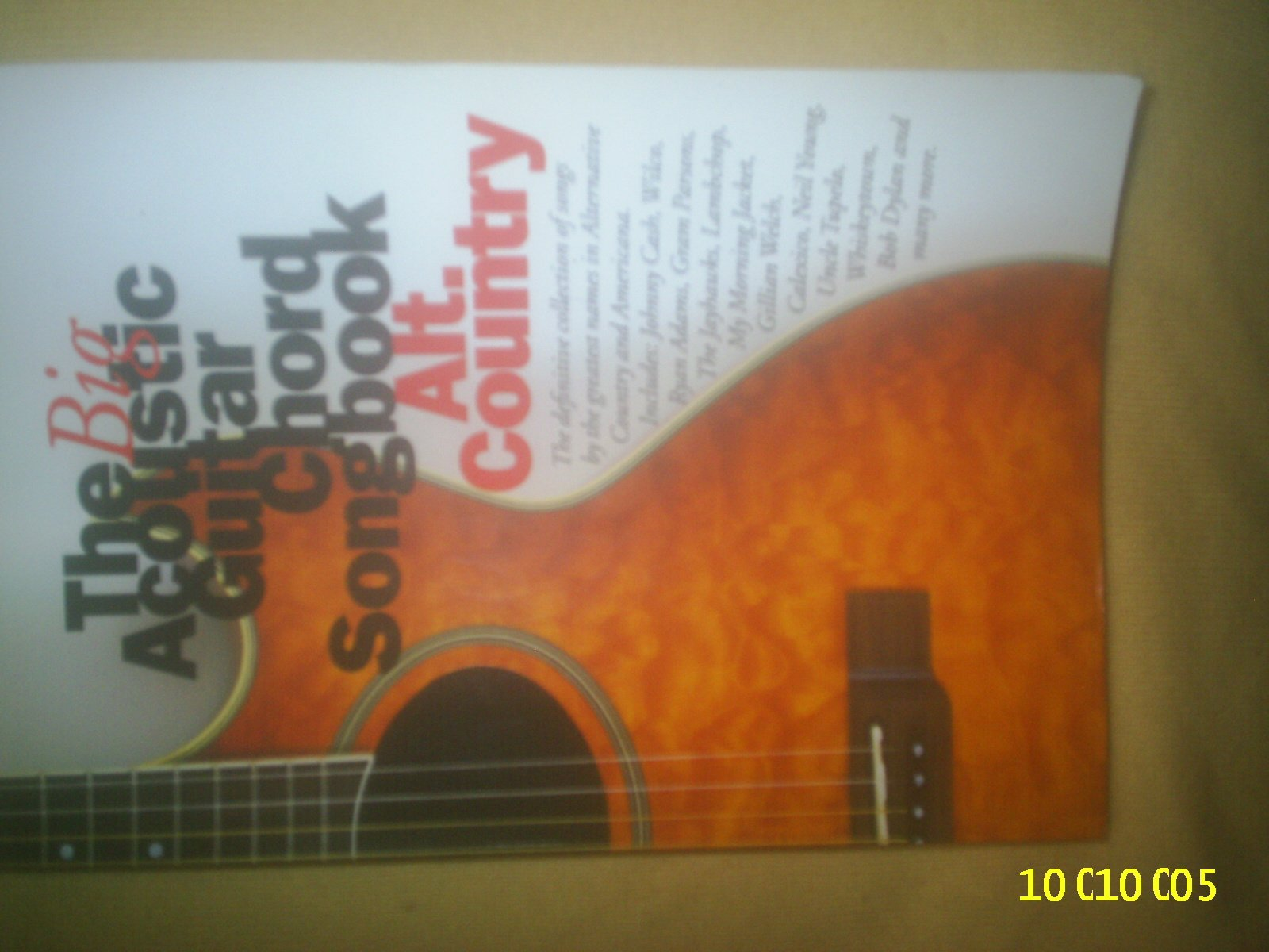 The Big Acoustic Guitar Chord Songbook Altuntry Sheet Music For