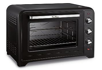 Moulinex horno de convección Optimo 60 L negro 7 modos de cocinado yy2917fb