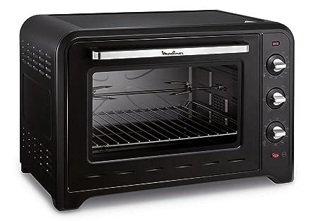Moulinex horno de convección Optimo 60 L negro 7 modos de cocinado yy2917fb: Amazon.es: Hogar