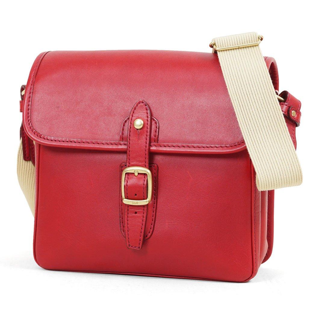 ショルダーバッグ メンズ SILVER LAKE CLUB シルバーレイククラブ Oil Leather オイルレザー  No.130182 レッド(Red) B06XKFBJHB