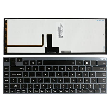 Replaces Backlit Keyboard for Dell XPS 12 Laptops MH2X1 9333 9Q23 9Q33