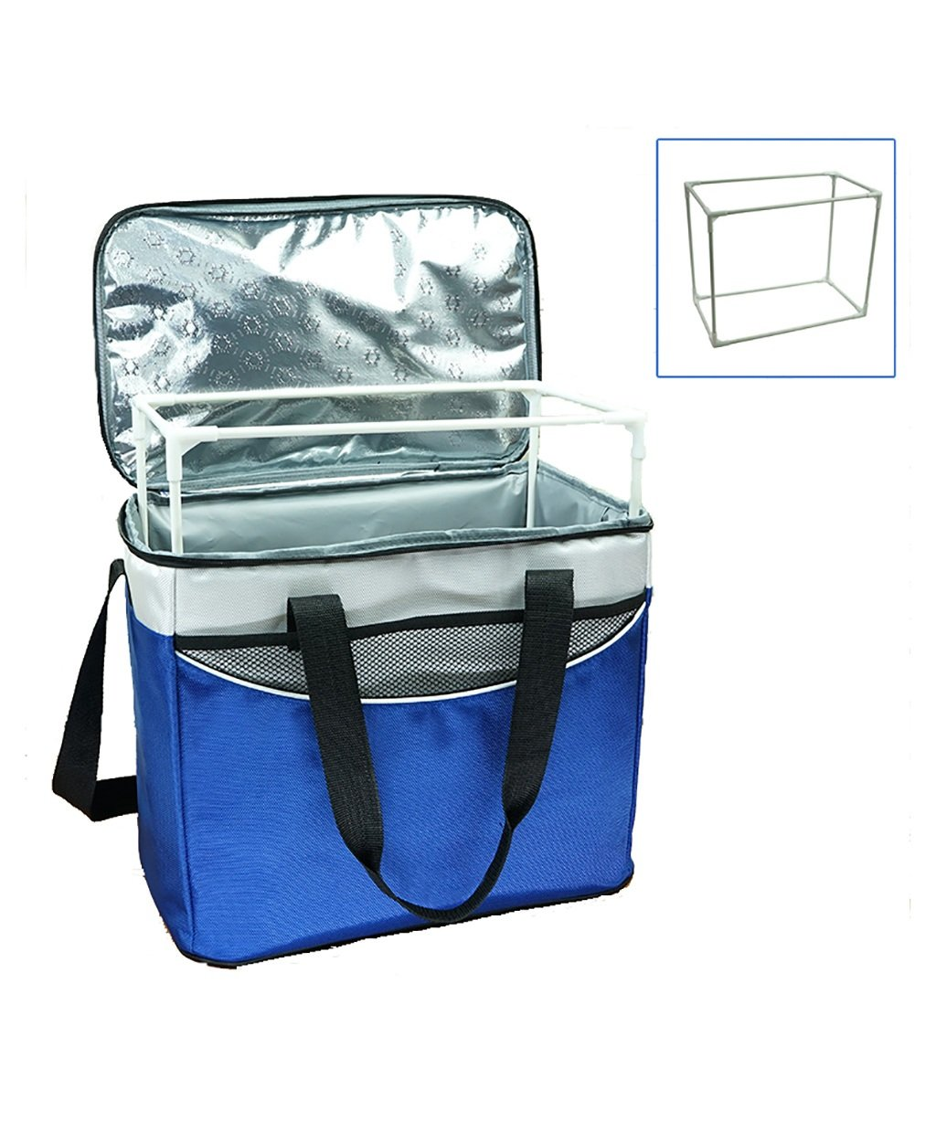 Yilian huwaibingxiang 36L Extra Large Thick Portable Shoulder Bag Insulation Bag Insulation Bag Waterproof Takeaway delivery Bag Picnic Bag (Color : C)