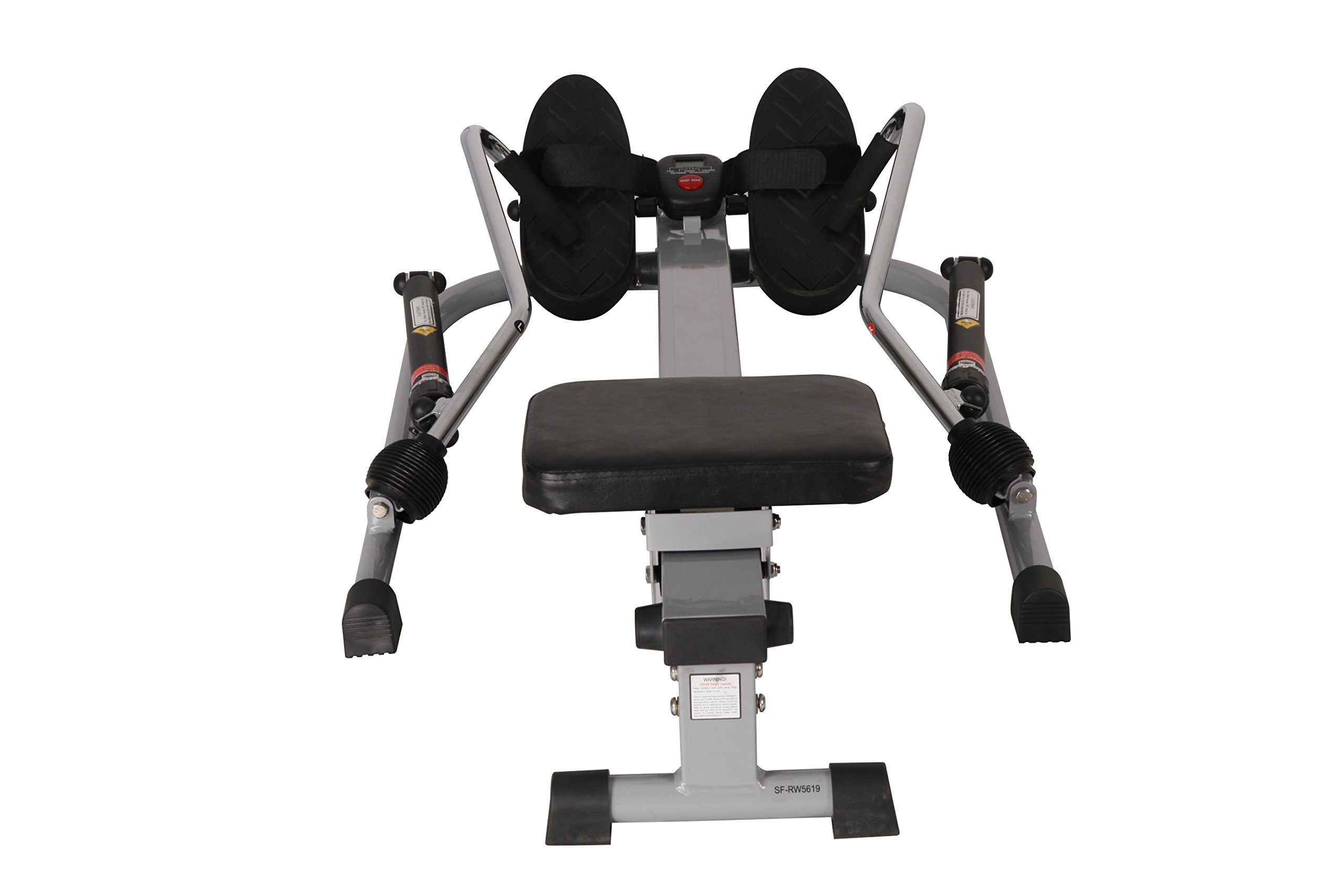 Sunny Health & Fitness SF-RW5619 12 Level Resistance Rowing Machine Rower w/ Independent Arms by Sunny Health & Fitness (Image #4)