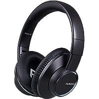 蓝牙耳机,AUSDOM H8 头戴式无线耳机,带 Mic and Shareme 功能立体声可折叠游戏耳机,适用于 Pc 智能手机成人儿童