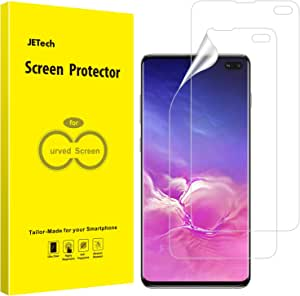 JETech Screen Protector for Galaxy S10 Plus S10+, TPU Ultra HD Film, Case Friendly, 2-Pack