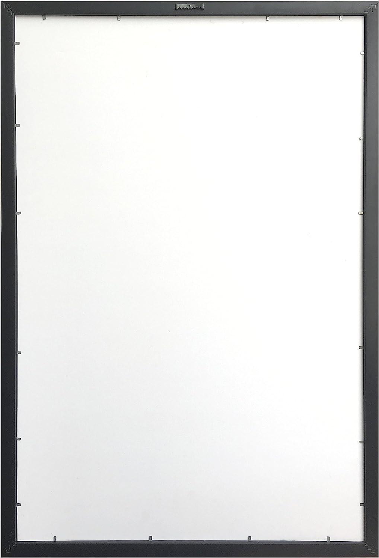 Unbekannt Trends International Wand Poster Pok/émon Mega Evolutions 22.375/X 34 Gerahmte Version 22.375 x 34