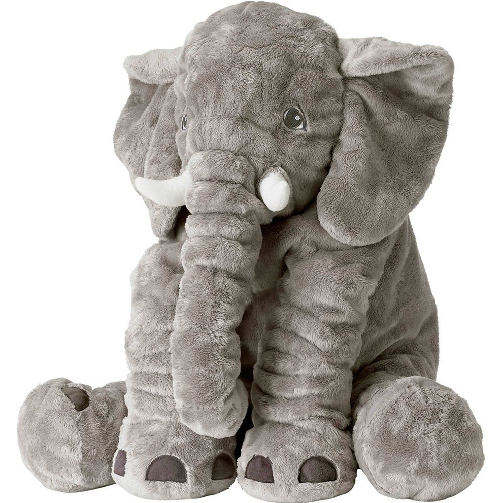 Amazon Com Rainbow Fox Grey Elephant Stuffed Animals Plush Toy