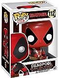 Deadpool H840415 Marvel Pop Vinyl Bobble-Head Figur 112 Thumbs Up, Mehrfarbig