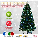1.2m 4FT LED Green Christmas Tree Lights Multi Colour Xmas Home Party Decoration