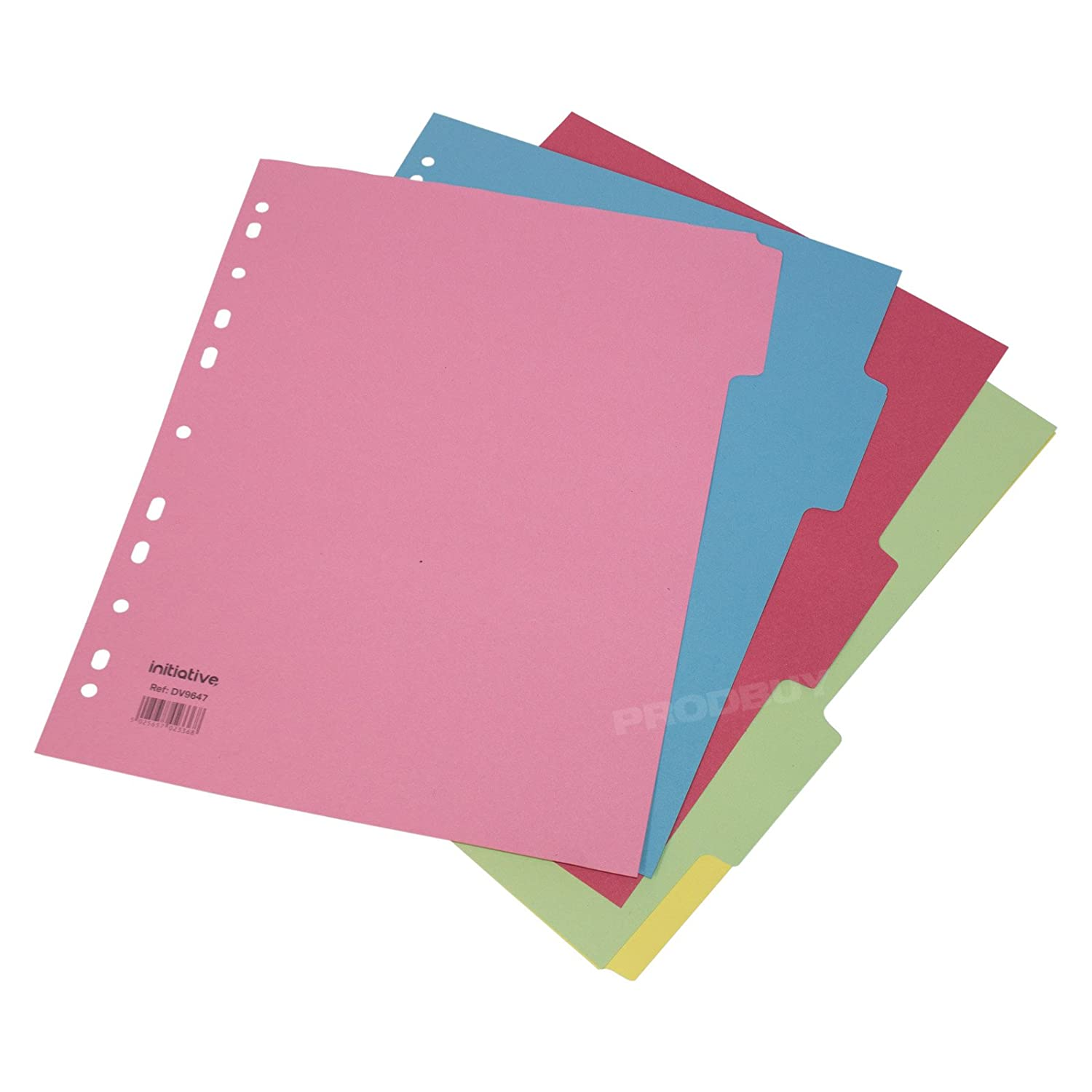 30 x 5 Part A4+ Extra Wide Ring Binder File Index Dividers Prodbuy Limited