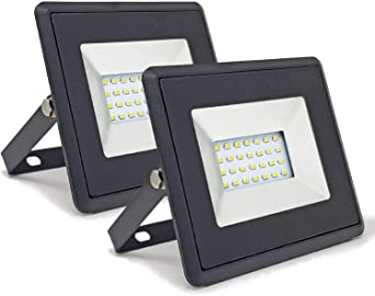 Conjunto de 2 - ZONE LED SET - 20W - Led Foco, Proyector Led - Luz ...