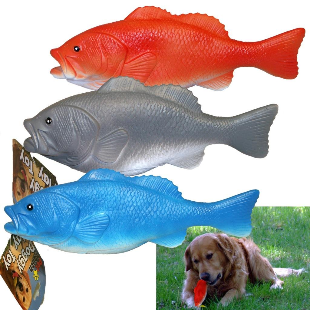 Pet Touch Fish Style Dog Squeaky Toy: Amazon.co.uk: Pet Supplies