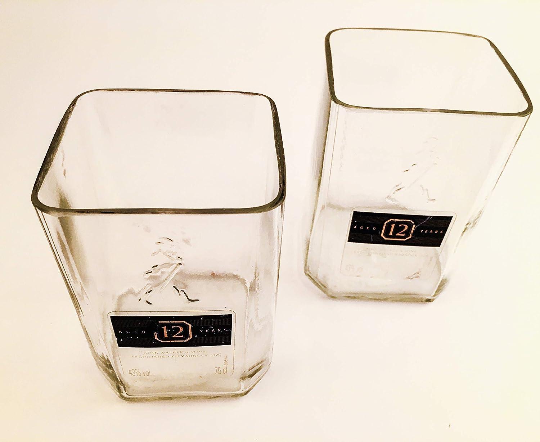 Johnnie Walker Whisky Rocks Glasses 6 Tumblers