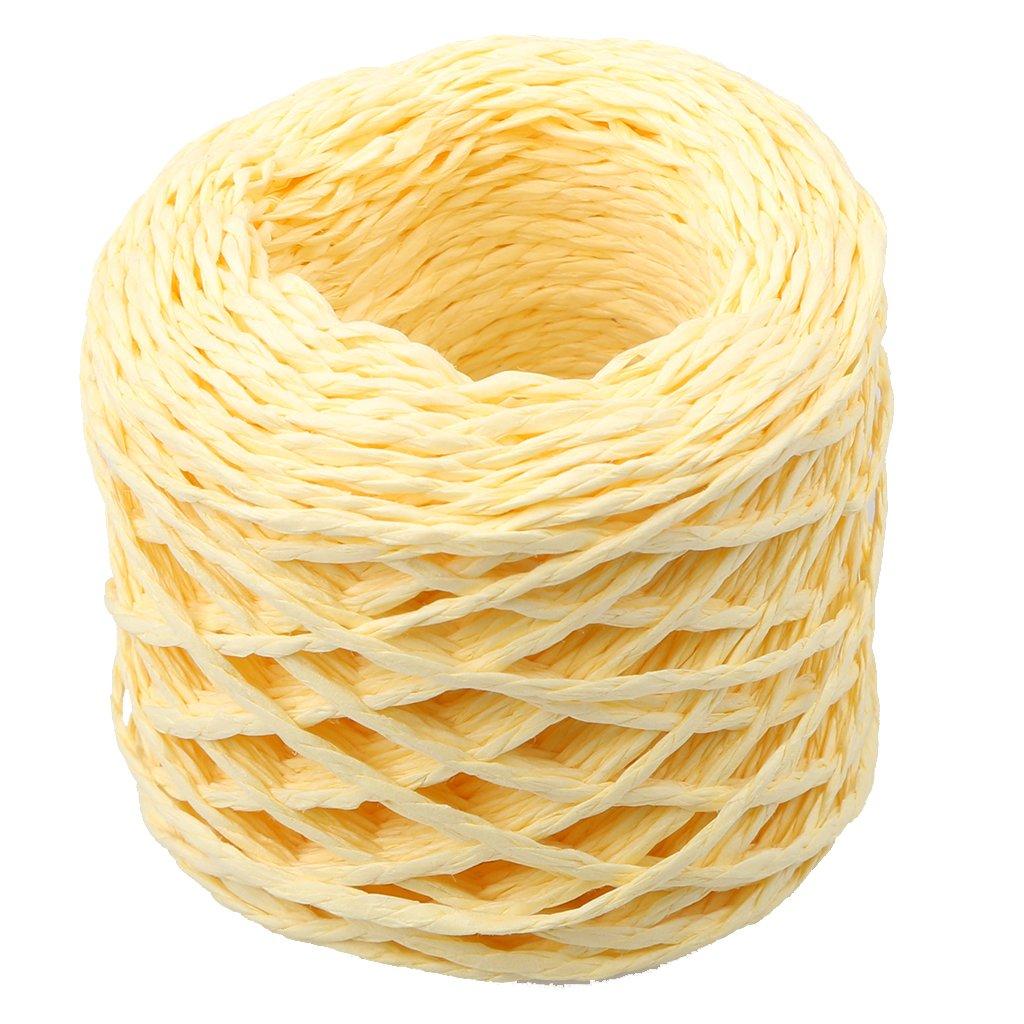 Sharplace 30 Metri Raffia Corde Materiali per Fai Da Te Artigianato Maglia Unincetto - Bianca Mestiere