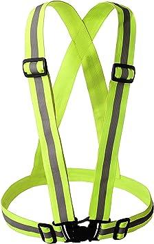 BESTOPE® Reflectante Chaleco de seguridad Alta Visibilidad Running ...