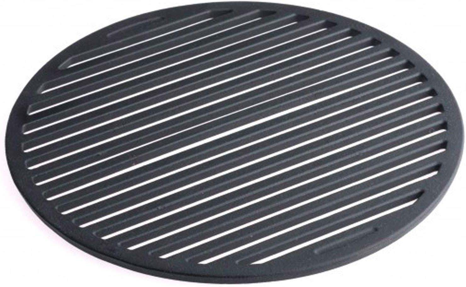 Tepro–Parrilla, Parrilla de baldas para Principal Fundido 57cm diámetro 8568, Negro, 30,5x 30,5x 1cm, 8571