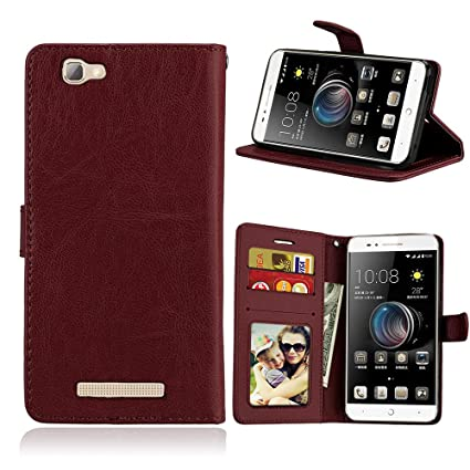 Amazon.com: Case for ZTE Blade A610 V6 max,PU Leather ...