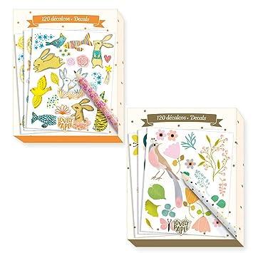 Djeco Rubbel De Juego Para Creativos Kids 240 Sticker Set Juego De