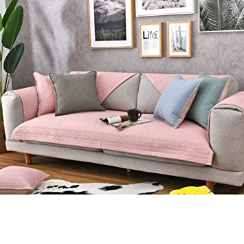 Pleasing Amazon Com Kfhiwuehpjhd Solid Color Cotton Slipcover Sofa Dailytribune Chair Design For Home Dailytribuneorg