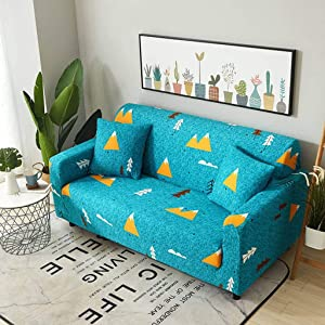 Sofa Covers Sofa Slipover,Full Cover Stretch Couch Covers Resistant Non Slip Furniture Protector Pets & Children Armchair Sofa Set B -AK-Sofa