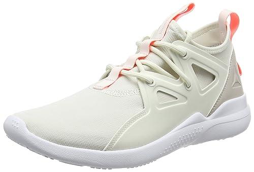 release date: 5264c 28e31 Reebok Women s Cardio Motion Fitness Shoes, Beige (Chalk Sand Stone Sour  Melon
