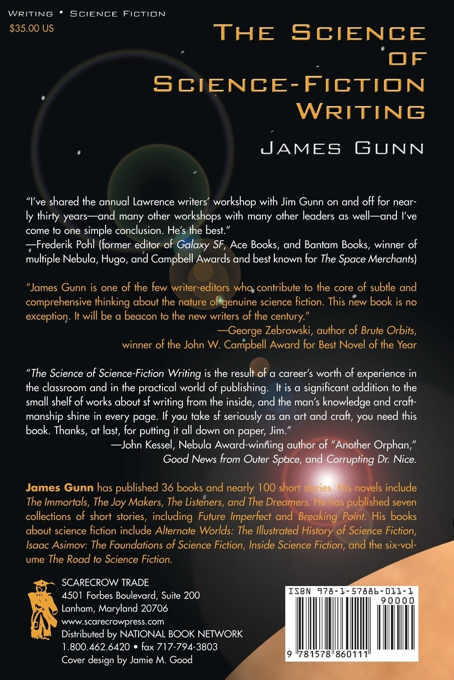 The Science of Science Fiction Writing: James Gunn: 9781578860111 ...