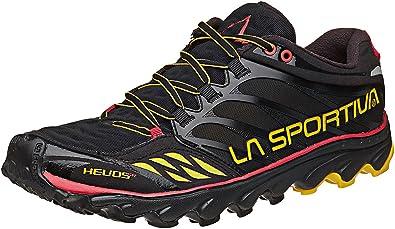 La Sportiva Helios SR Zapatillas de Correr - SS18 - Negro/Amarillo, 37: Amazon.es: Zapatos y complementos