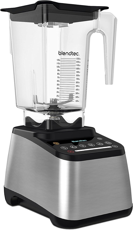 Blendtec France Kitchen 907253 - Batidora (1800 W, 2,66 L), acero ...